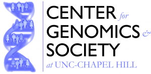 center for genomics and society at UNC-Chapel Hill logo